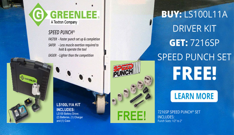 Greenlee Special Offer