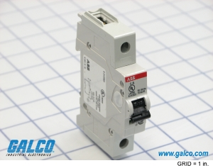 An ABB S200 Series Miniature Circuit Breaker