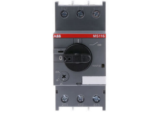 Ms116 32 Abb Manual Motor Protector Galco Industrial