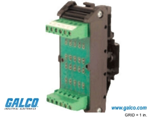 Component Holder DIN Rail Interface Modules