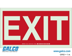Exit Signs and Signage