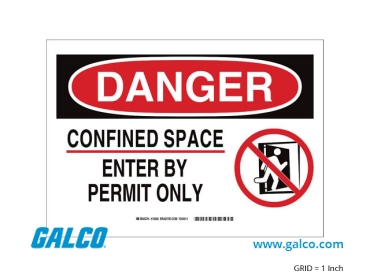Confined Space Signs Signs and Signage
