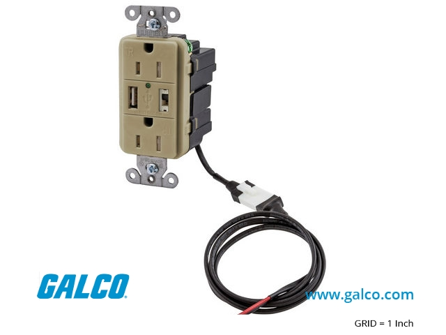 AVPS15I - Bryant Electric - Receptacle | Galco Industrial Electronics