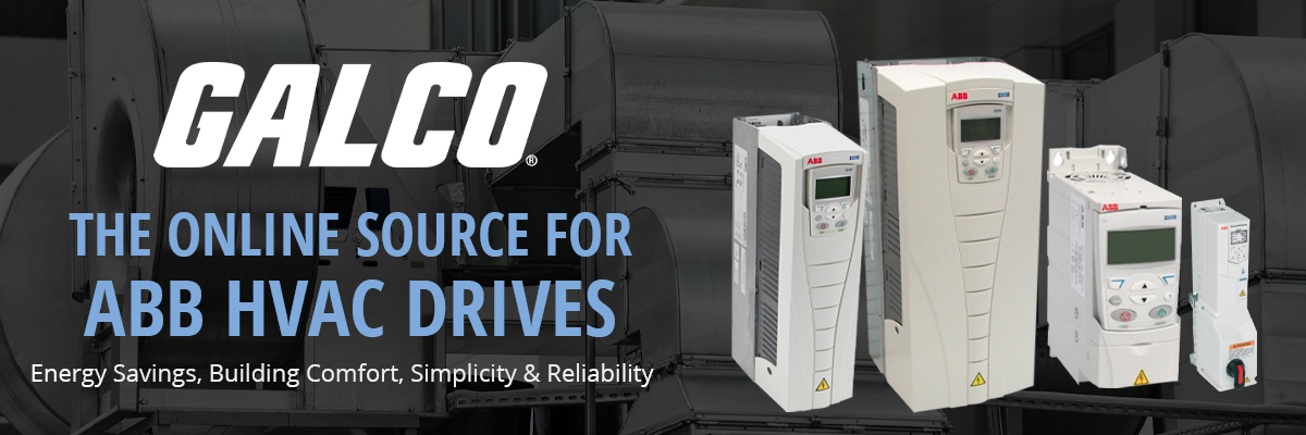 GALCO. THE ONLINE SOURCE FOR ABB HVAC DRIVES