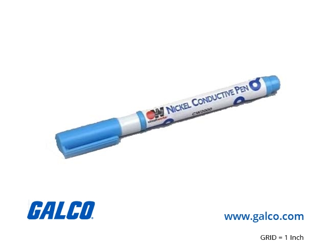 cw2000 chemtronics conductive pen galco industrial electronicscw2000 chemtronics conductive pen, circuitworks nickel