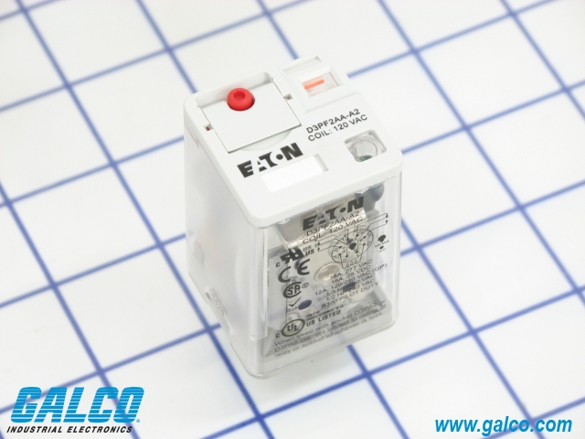 D3pf2aa Cutler Hammer Div Of Eaton Corp General Purpose Relays Galco Industrial Electronics