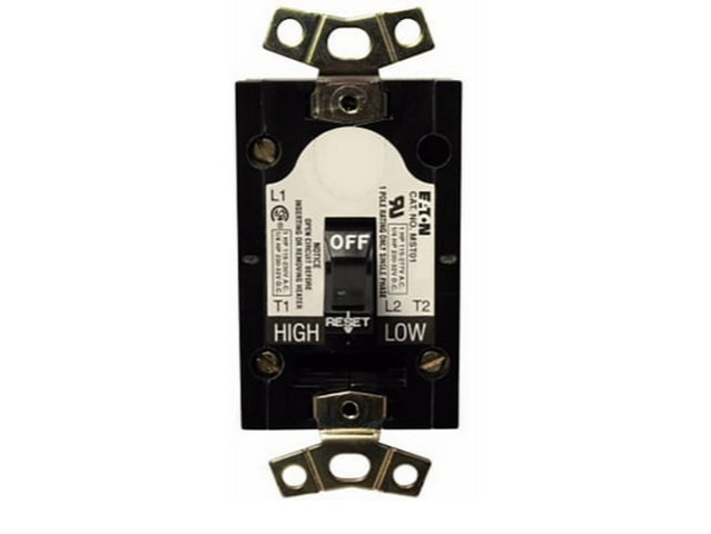 MST01 - Cutler Hammer, Div of Eaton Corp - Manual Motor Protector ...