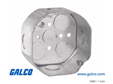 TP290: Octagon Outlets from Crouse-Hinds Commercial Products