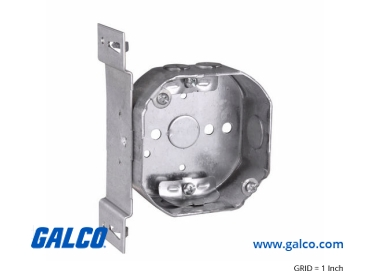 Octagon Outlet Electrical Boxes