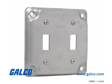TP508: Outlet Covers from Crouse-Hinds Commercial Products