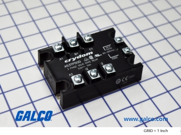 crydom solid state relays, 53tp series � a53tp50d part image