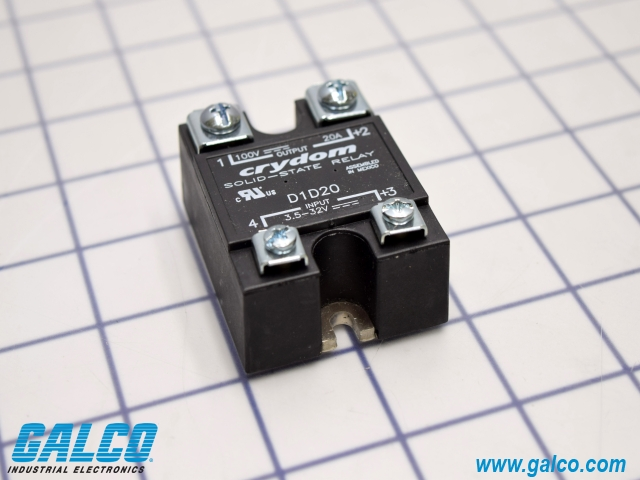 D1d20 crydom solid state relays galco industrial electronics package image sciox Gallery