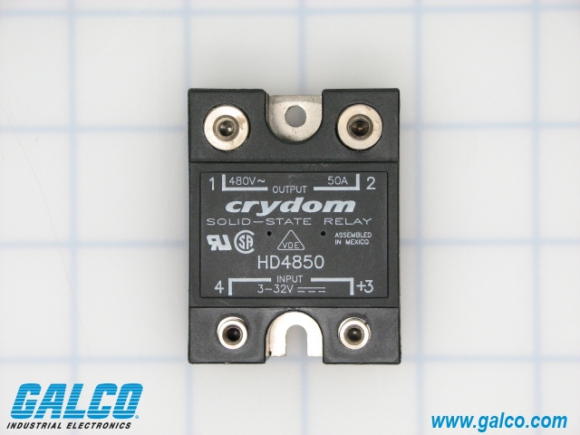 Hd4850 crydom solid state relays galco industrial electronics package image sciox Gallery
