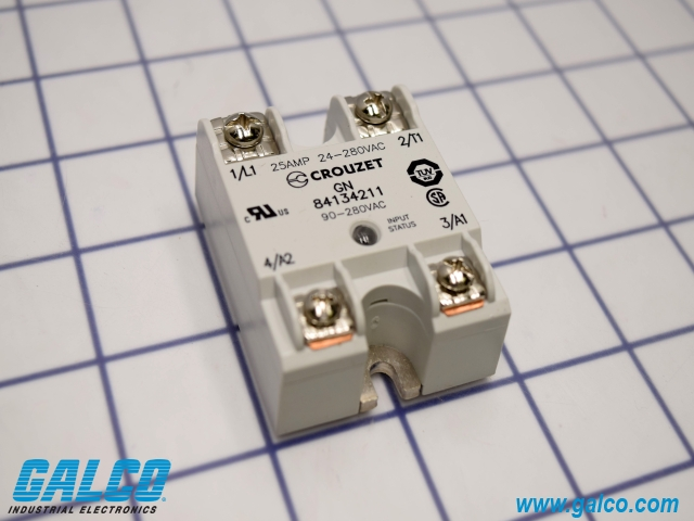84134211 Crouzet Solid State Relays Galco Industrial Electronics