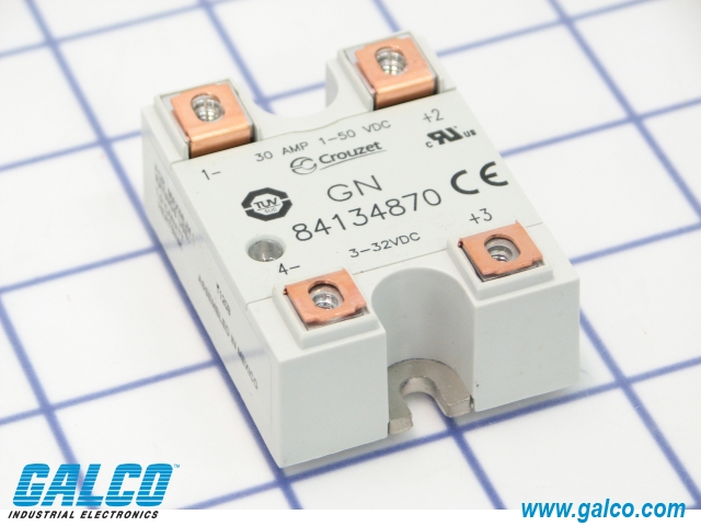 84134870 Crouzet Solid State Relays Galco Industrial Electronics