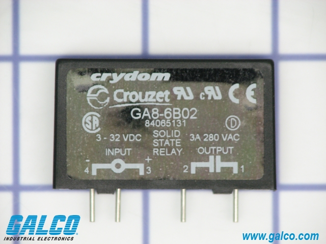 GA86B02 Crouzet Solid State Relays Galco Industrial Electronics