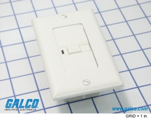 Blank Face GFCIs Plugs and Receptacles