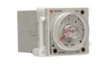 Sample image: FAA08DW24 Timer 48x48mm HOUSING 8 PIN TIMING RANGE 0.05 SECONDS TO 300 HOURS, 4 FUNCTION