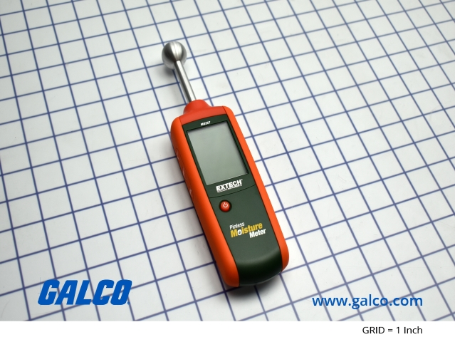 Extech Pinless Moisture Meter Wood /& Building Materials non-invasive ball sensor