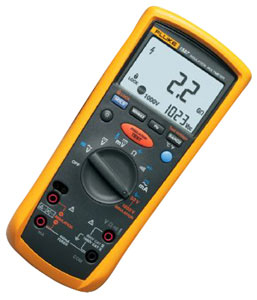 fluke insulation multimeter model 1587 digital insulation tester rh galco com Fluke 787 User Manual Fluke 787 User Manual