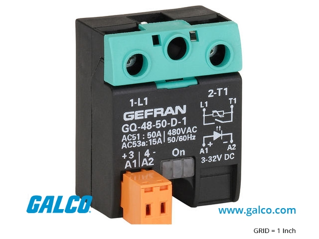 Gq 90 60 a 1 4 gefran solid state relays galco industrial package image sciox Gallery