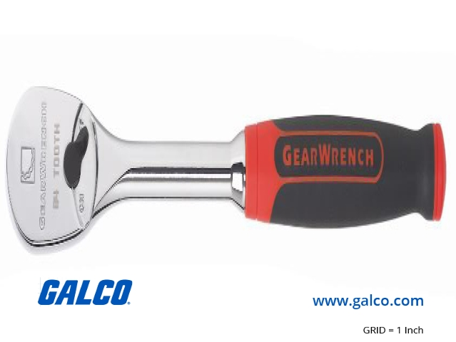 """Gearwrench 81303F 1//2/"""" Drive 84 Tooth Ratchet with Cushion Grip Handle"""