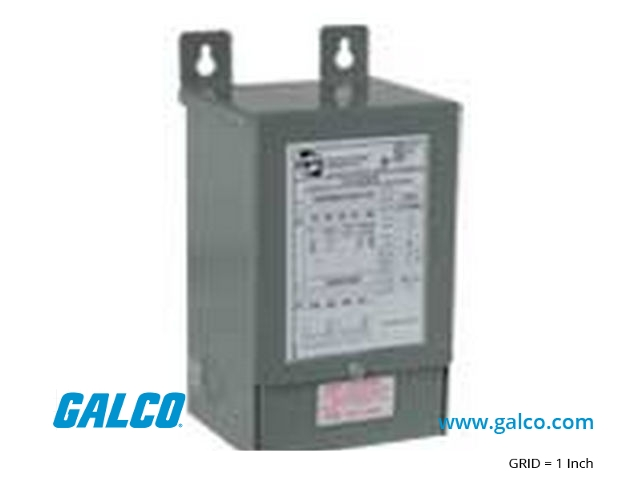 C1F007EES - Hammond Power Solutions - General Purpose Transformers ... 480 to 240 3 phase transformer wiring Galco Industrial Electronics