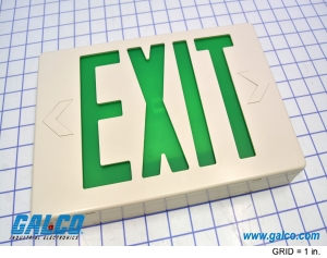 Illuminated Exit Signs Visual Signaling Devices