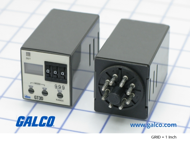GT3D-2AD24 - IDEC - Timing Relays | Galco Industrial Electronics on idec relay base, idec relay schematic, idec spdt relay, idec relay 24v, idec safety relay, idec smart relay, idec solid state relays,