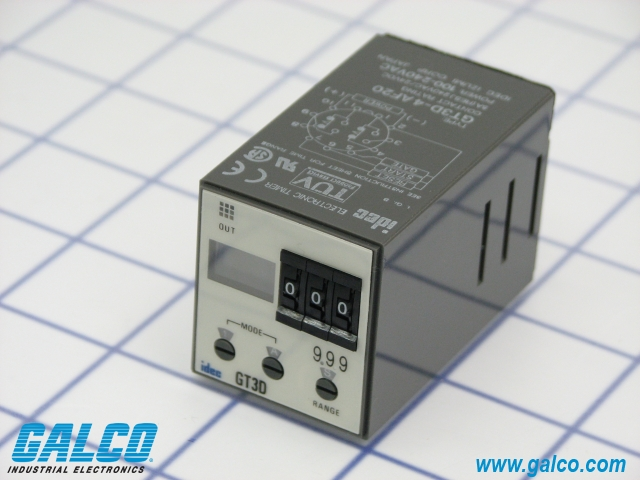 GT3D-4AF20 - IDEC - Timing Relays | Galco Industrial Electronics on