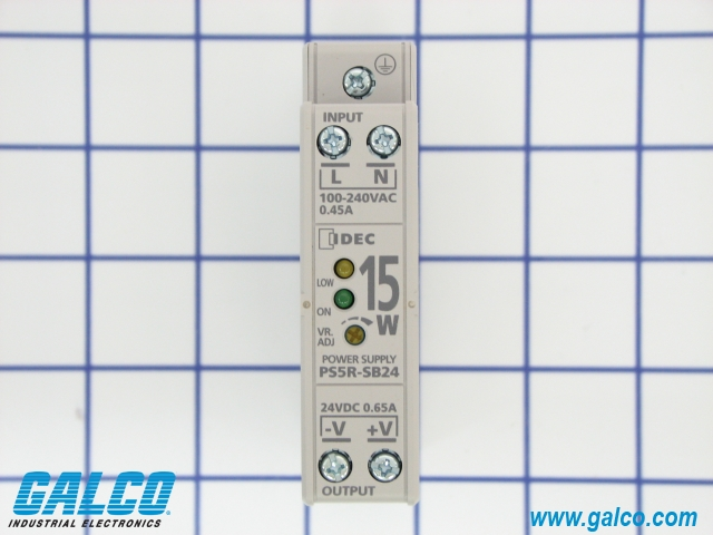 Ps5r Sb24 Idec Switching Power Supplies Galco Industrial