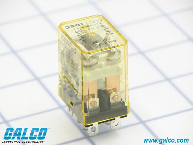 RH2B-U-DC12 - IDEC - General Purpose Relays | Galco ... on idec relay rh1b ul, idec rh1b-u, idec control relay, idec relay base,