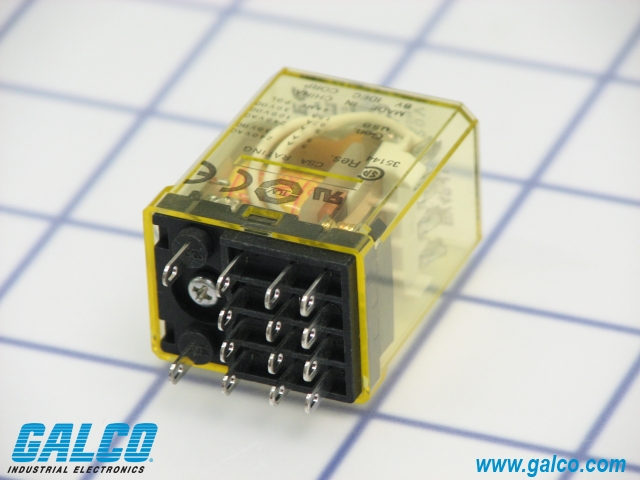 ry4s u ac120 idec general purpose relays galco industrial  idec ry4s relay wiring diagram #9
