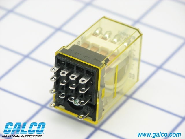 ry4s u dc6_p ry4s u dc6 idec general purpose relays galco industrial Basic Electrical Wiring Diagrams at gsmportal.co
