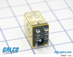 rh2b ul dc24 idec general purpose relays galco industrial alt image 1