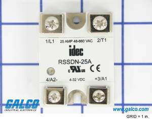 rssdn 25a_p1 rssdn 25a idec solid state relays galco industrial electronics Solid State Relay Schematic at aneh.co