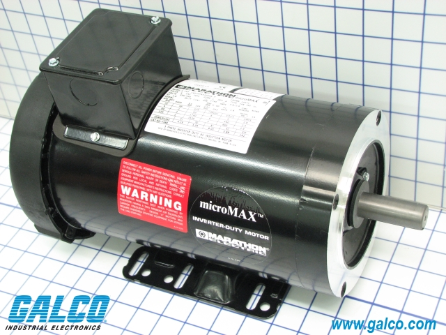 Y368 marathon electric ac motors galco industrial for Marathon black max motors