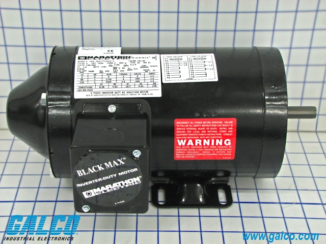 Y535 marathon electric ac motors galco industrial for Marathon black max motors
