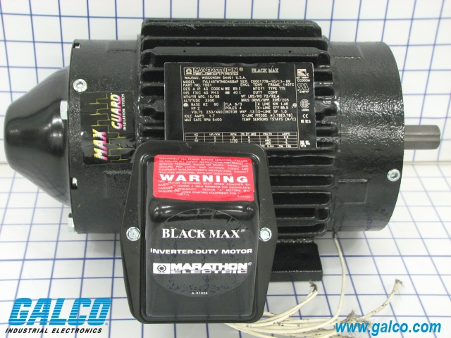Y551 marathon electric ac motors galco industrial for Marathon black max motors