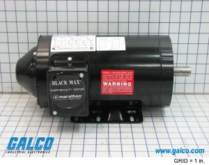 Y538 marathon electric ac motors galco industrial for Marathon black max motors
