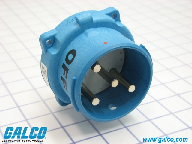 Meltric MP6 Angle Adapter for Receptacle Connector