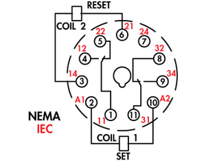 11 Pin Relay Base Wiring Diagram