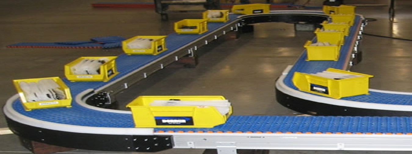 Conveyor Run By an Electric Drive System