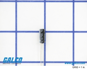 UVZ1A101MDD: Electrolytic Capacitors from Nichicon