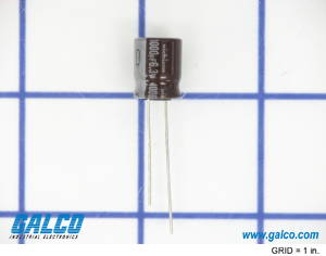 UPW0J102MPH: Electrolytic Capacitors from Nichicon