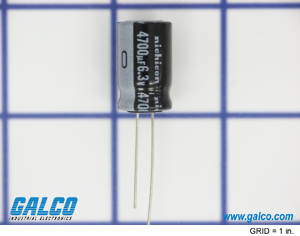 UVR0J472MHD: Capacitor from Nichicon