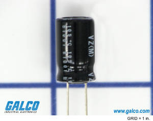 UVZ2W3R3MPD: Capacitor from Nichicon