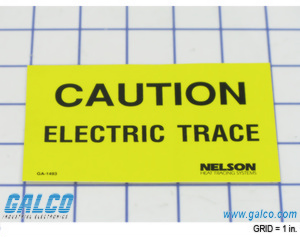 Warning Signs Heat Tracing Accessories