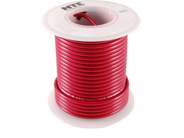 WHS20-02-25 - NTE Electronics - Single Conductor | Galco Industrial ...