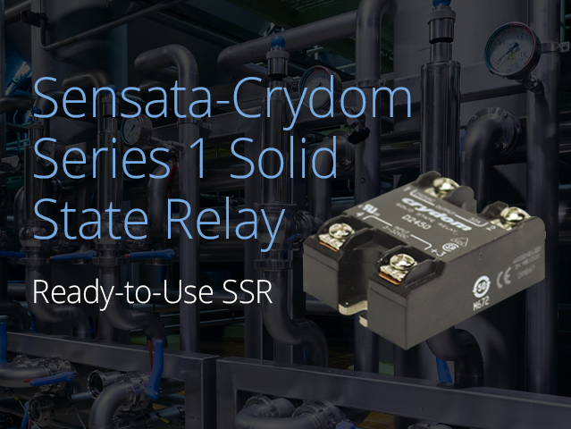Sensata-Crydom Series 1 Solid State Relay. Ready-to-Use SSR